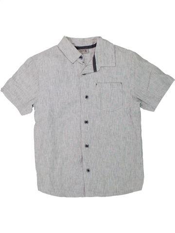 Chemise manches courtes garçon NEXT gris 7 ans été #1426850_1