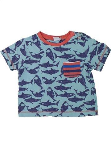 Camiseta de manga corta niño MINI CLUB azul 9 meses verano #1427237_1