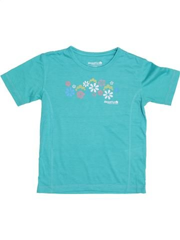 T-shirt manches courtes fille REGATTA bleu 8 ans été #1427283_1