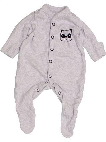 Pyjama 1 pièce garçon MOTHERCARE blanc prématuré été #1427731_1