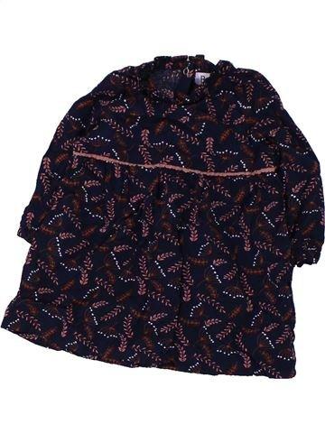 Blusa de manga larga niña LA REDOUTE CRÉATION negro 6 meses invierno #1427784_1