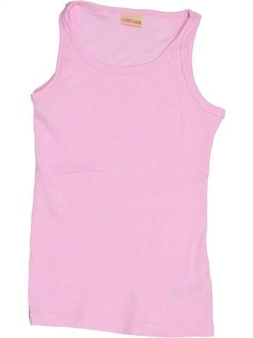 Camiseta sin mangas niña CHEROKEE rosa 9 años verano #1428153_1