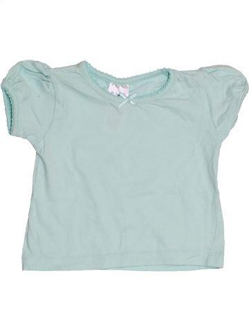 Camiseta de manga corta niña BABY gris 12 meses verano #1428177_1