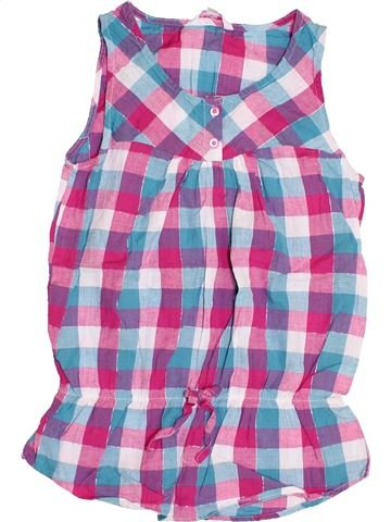 Blusa de manga corta niña MISS E-VIE violeta 11 años verano #1428281_1