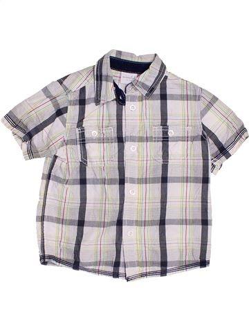 Camisa de manga corta niño MINI CLUB blanco 2 años verano #1429200_1
