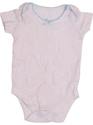 Camiseta de manga corta niña JOHN LEWIS blanco 3 meses verano #1429263_1