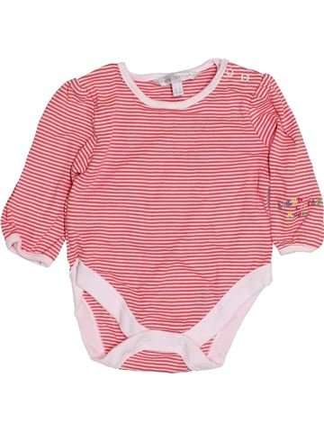T-shirt manches longues fille ROCHA LITTLE ROCHA rose 3 mois hiver #1429332_1