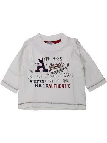 Camiseta de manga larga niño ALPHABET blanco 6 meses invierno #1429800_1