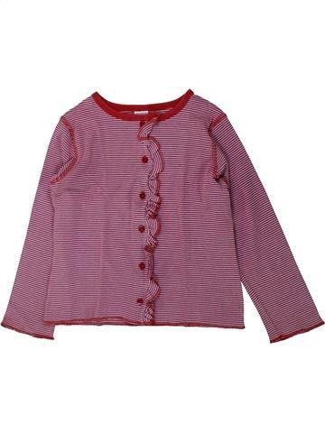 Gilet fille PETIT BATEAU violet 6 ans été #1429947_1