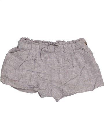 Short - Bermuda fille ZARA gris 3 ans hiver #1430275_1