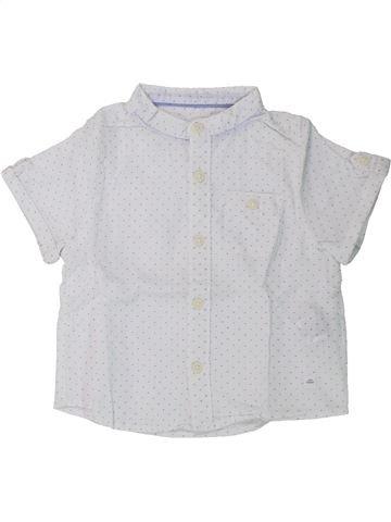 Chemise manches courtes garçon ZARA blanc 18 mois été #1430428_1