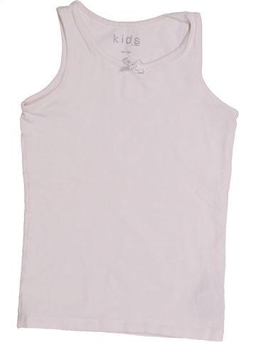 T-shirt sans manches fille TCHIBO blanc 8 ans été #1430564_1