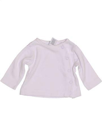 T-shirt manches longues unisexe C&A blanc prématuré hiver #1430628_1