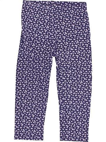 Legging fille HEATONS bleu 4 ans hiver #1430650_1