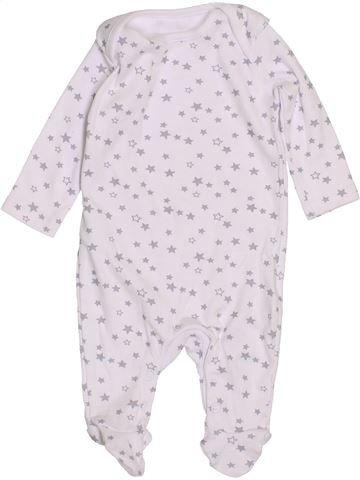 Pyjama 1 pièce garçon LADYBIRD blanc naissance hiver #1430949_1