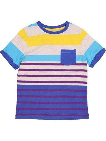 T-shirt manches courtes garçon NUTMEG beige 6 ans été #1431003_1