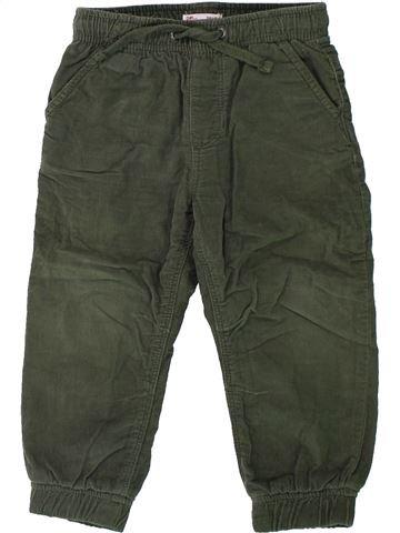 Pantalón niño DPAM marrón 2 años invierno #1431058_1