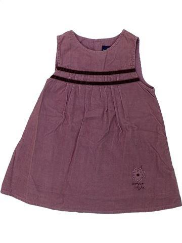 Robe fille SERGENT MAJOR violet 12 mois hiver #1431351_1