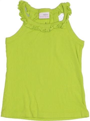 T-shirt sans manches fille NEXT vert 3 ans été #1431362_1
