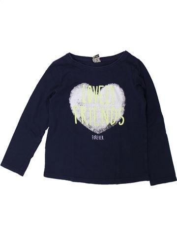 T-shirt manches longues fille TAPE À L'OEIL noir 6 ans hiver #1431486_1