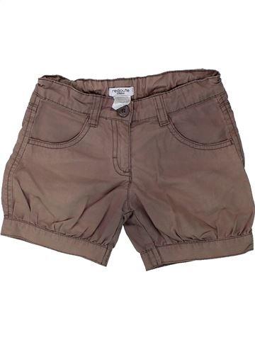 Short-Bermudas niña LA REDOUTE CRÉATION marrón 6 años verano #1431488_1