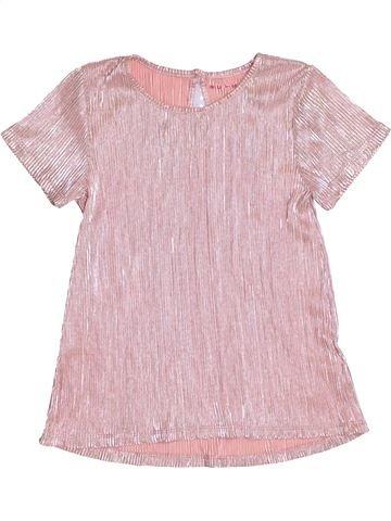 T-shirt manches courtes fille NUTMEG rose 11 ans été #1431557_1