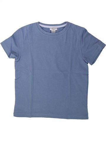 T-shirt manches courtes garçon CYRILLUS bleu 6 ans été #1431588_1