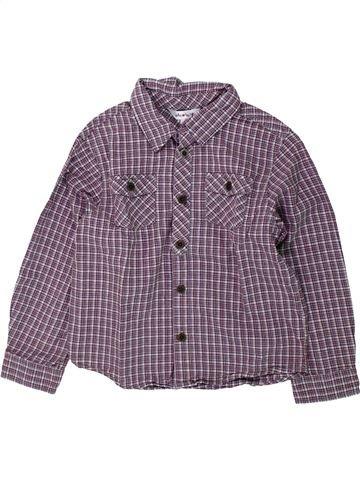Chemise manches longues garçon KIABI violet 5 ans hiver #1431627_1