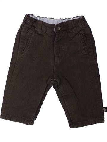 Pantalon garçon SERGENT MAJOR marron 6 mois hiver #1431646_1