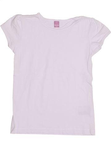T-shirt manches courtes fille DOPODOPO blanc 7 ans été #1431662_1