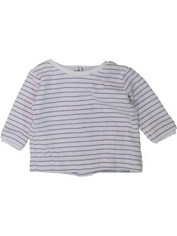 Camiseta de manga larga niño LES BEBES SONT COMME ÇA gris 0 meses invierno #1431663_1