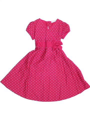 Robe fille GEORGE rose 5 ans hiver #1431811_1
