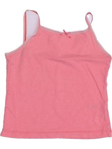 T-shirt sans manches fille NUTMEG rose 4 ans été #1431985_1