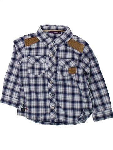 Chemise manches longues garçon SERGENT MAJOR bleu 2 ans hiver #1431991_1