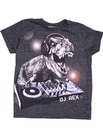 T-shirt manches courtes garçon NEXT gris 8 ans été #1432161_1