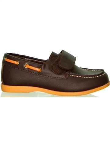 Zapatos con velcro niño GEMO marrón 26 invierno #1432215_1