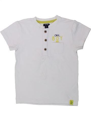 T-shirt manches courtes garçon KIABI blanc 3 ans été #1432233_1