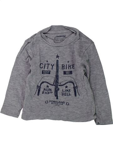 Camiseta de manga larga niño ORCHESTRA gris 3 años invierno #1432249_1