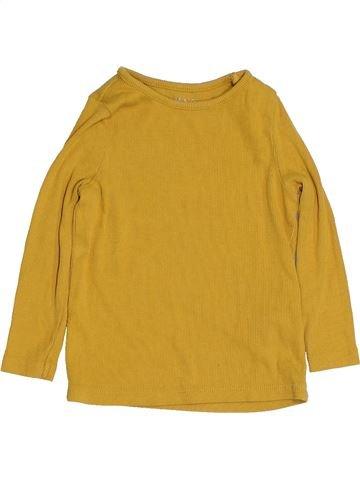 T-shirt manches longues fille NUTMEG jaune 2 ans hiver #1432290_1