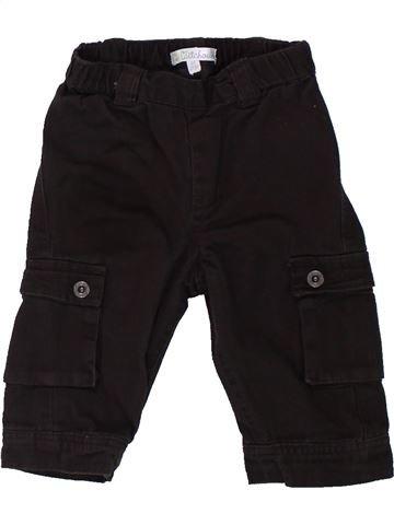 Pantalon garçon KIABI noir 6 mois hiver #1432301_1