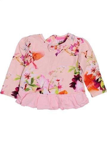 T-shirt manches longues fille BAKER violet 12 mois hiver #1432312_1