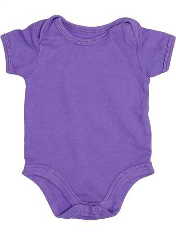 T-shirt manches courtes fille PRIMARK violet 3 mois été #1432427_1