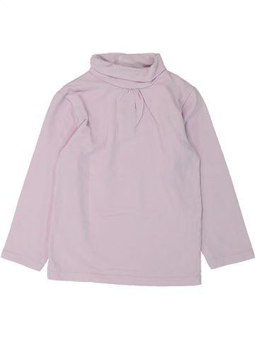 T-shirt col roulé fille KIABI rose 2 ans hiver #1432514_1