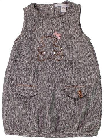 Robe fille LULU CASTAGNETTE gris 2 ans hiver #1432527_1