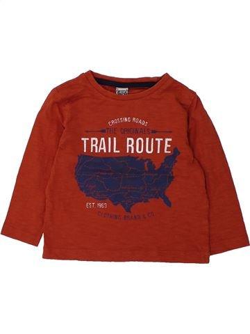 Camiseta de manga larga niño TAPE À L'OEIL rojo 2 años invierno #1432648_1