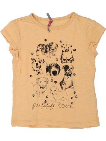 Camiseta de manga corta niña ORCHESTRA beige 4 años verano #1432680_1