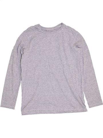 T-shirt manches longues garçon Y.F.K gris 12 ans hiver #1432760_1