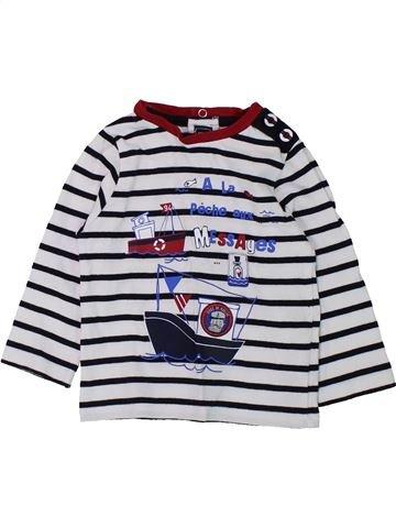 T-shirt manches longues garçon TERRE DE MARINS noir 12 mois hiver #1432865_1