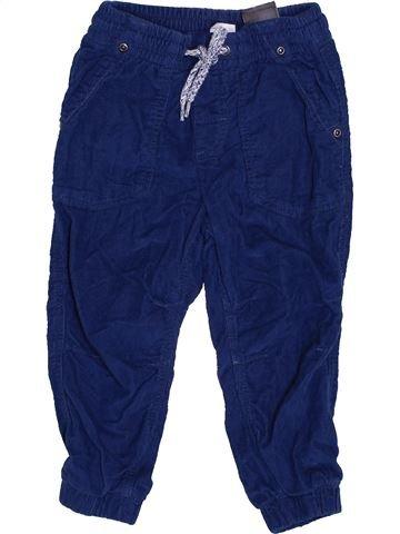 Pantalon garçon H&M bleu 18 mois hiver #1432985_1
