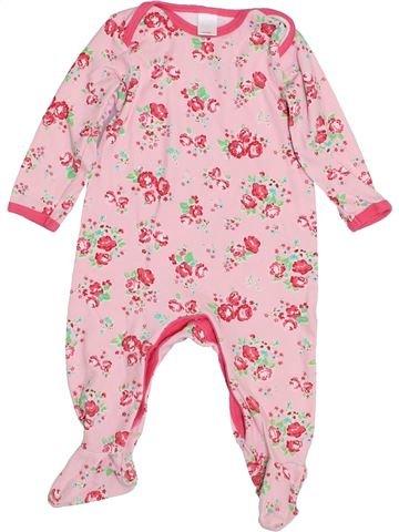 Pijama de 1 pieza niña MINI CLUB rosa 9 meses invierno #1432993_1